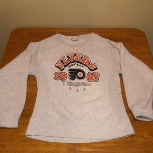 Vintage 80s Philadelphia Flyers sweatshirt. S/M